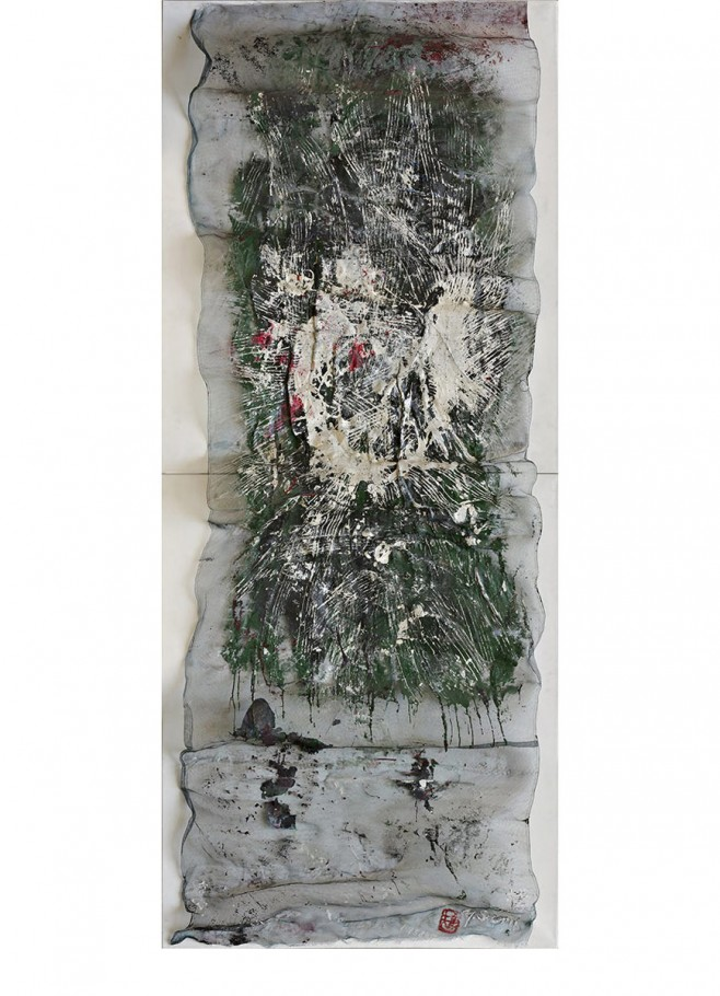 Yasuo Sumi, 1959, cm. 240x100