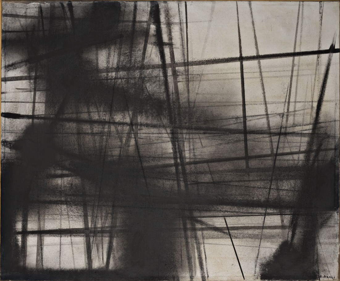 Edmondo Bacci, Fabbrica, 1950, cm 101x81