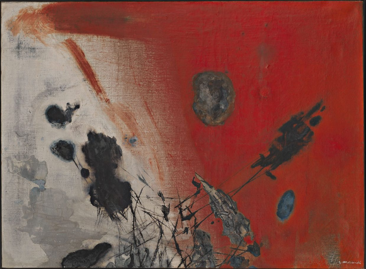Gino Morandis, Senza Titolo, 1953-1954, Olio su tela, cm. 60x80